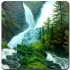 Waterfall in forest 1.1 for Android